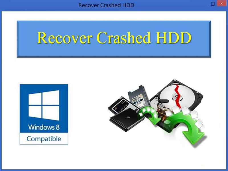 Best Tool to Recover Data from Crashed HDD